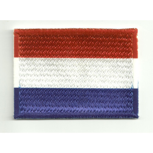 Patch embroidery and textile FLAG  NETHERLANDS - HOLLAND 4CM x 3CM