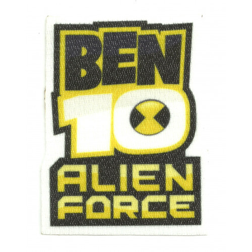 Textile patche BEN 10 ALIEN FORCE 6cm x 8cm