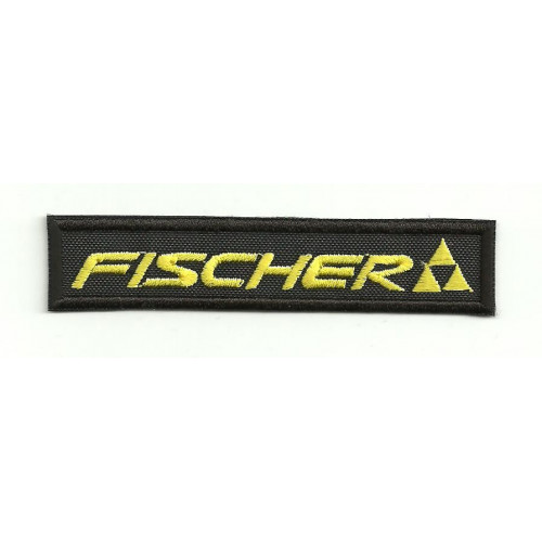 embroidery  patch  FISCHER 9cm x 2cm