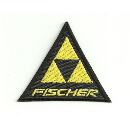 embroidery  patch FISCHER 6,5cm x 5,5cm
