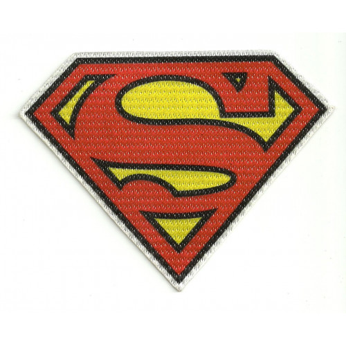 Textile patch SUPERMAN 11cm x 8,5cm