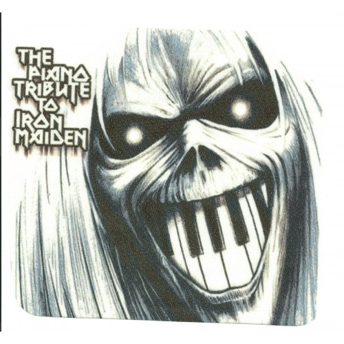33 Textile patch IRON MAIDEN 10cm x 9cm