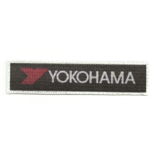 Textile patch YOKOHAMA 10,5cm x 2,5cm