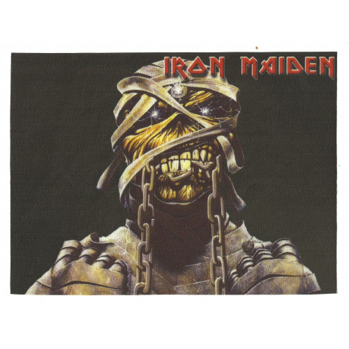 31 Textile patch IRON MAIDEN 13cm x 9,5cm