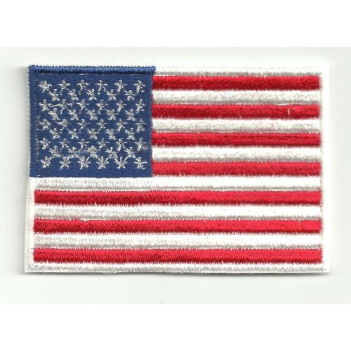 Parche bandera USA 4cm x 3cm