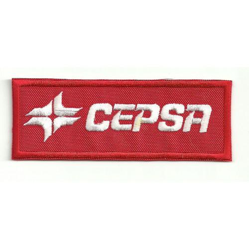 Parche bordado CEPSA 9cm x 3,5cm