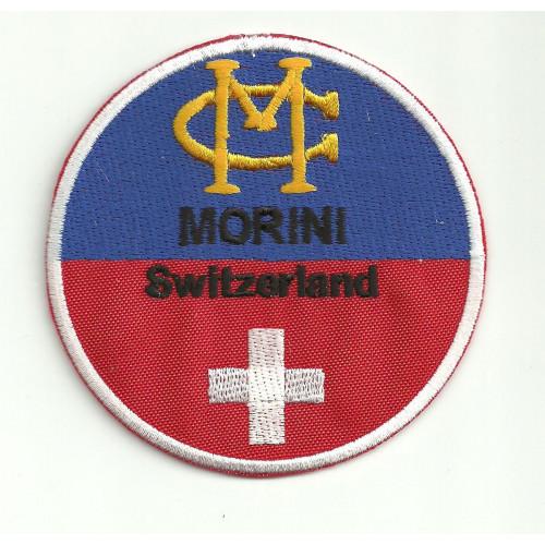 Embroidery  patch  MORINI SWITZERLAND 8CM