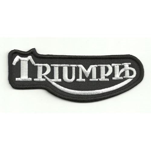 Patch embroidery  TRIUMPH CLASIC 4cm x 1,6cm