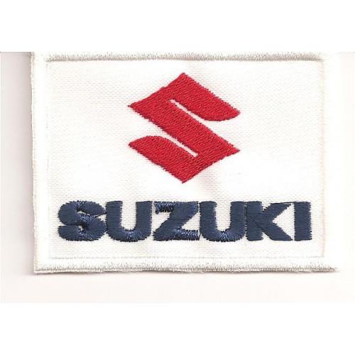 Parche bordado SUZUKI  3,5cm x 2,5cm