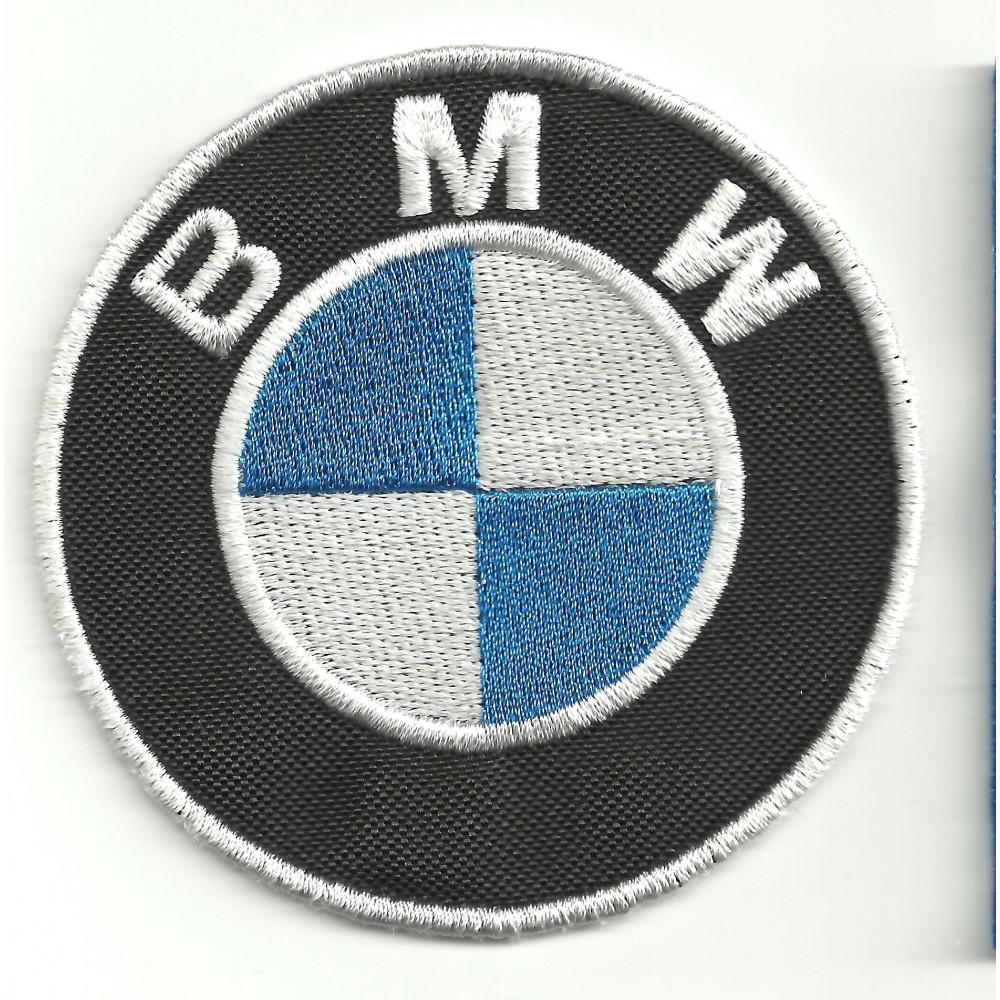 Parche bordado  BMW  3cm