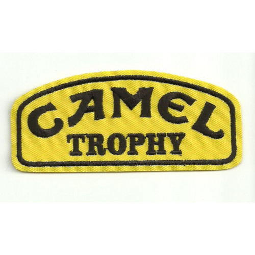 Patch embroidery  CAMEL TROPHY   4,5cm x 2cm