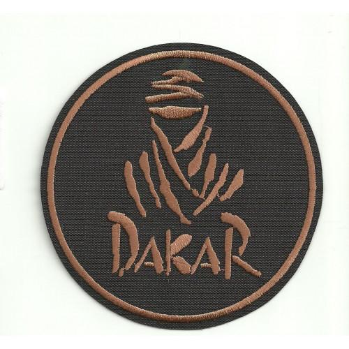 Patch embroidery  DAKAR  NEGRO   3,5cm