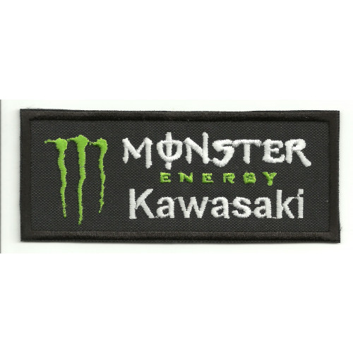 Parche bordado  KAWASAKI MONSTER ENERGY  5cm x 2cm
