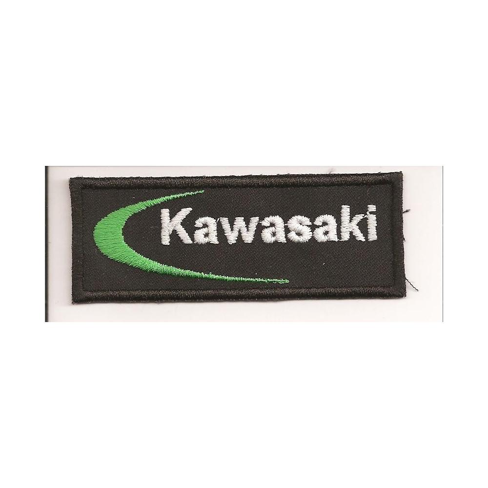 Parche bordado  KAWASAKI  5cm x 2cm
