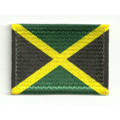 Parche bandera JAMAICA  7cm x 5cm