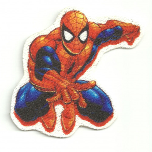 Textile patch SPIDERMAN   5cm x 6cm