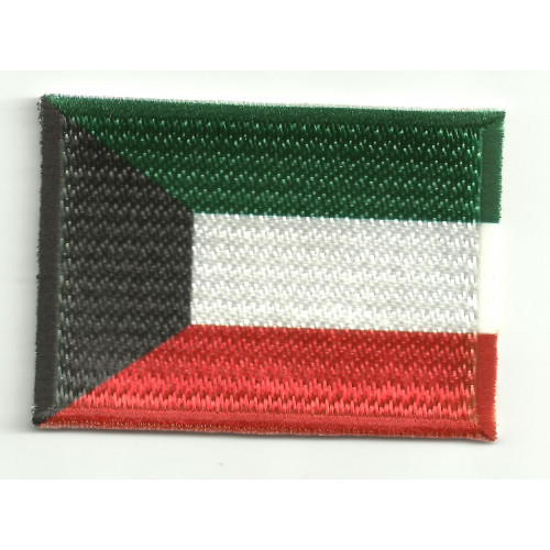 Patch embroidery and textile  KUWAIT 4CM x 3CM