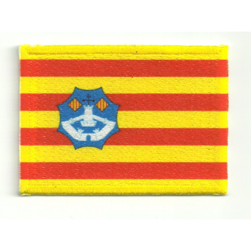 Patch embroidery and textile MENORCA FLAG 4cm x 3cm