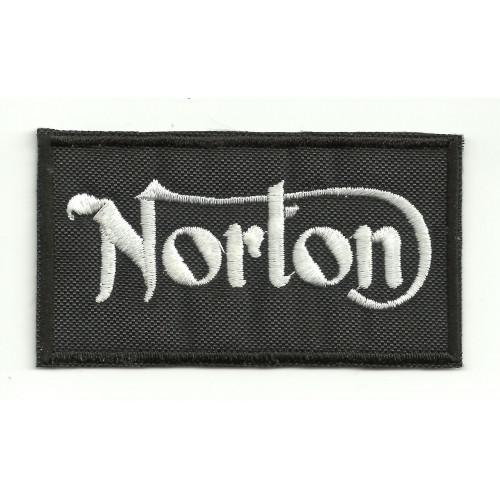 Patch embroidery NORTON 4cm x 2,2cm