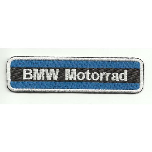 Patch embroidery BMW MOTORRAD AZUL 5,5cm x 1,5cm