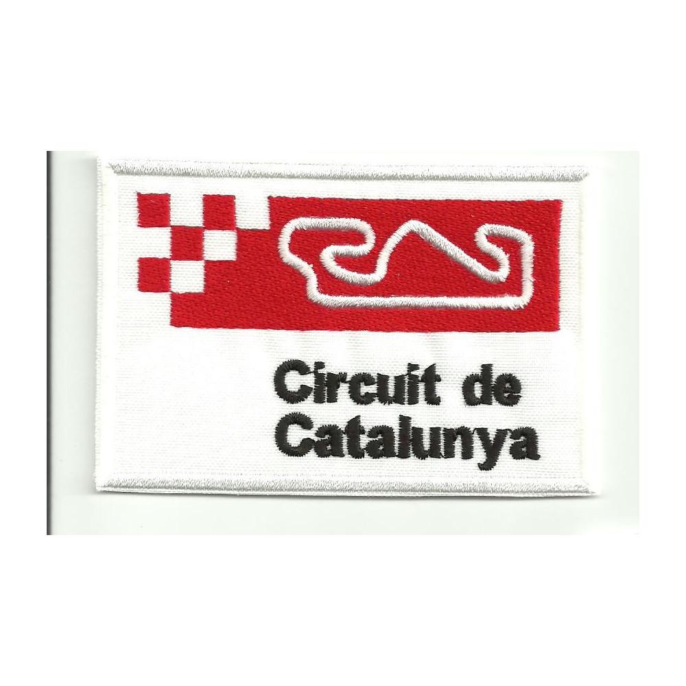 Parche bordado CIRCUIT DE CATALUNYA 4,5cm x 3cm