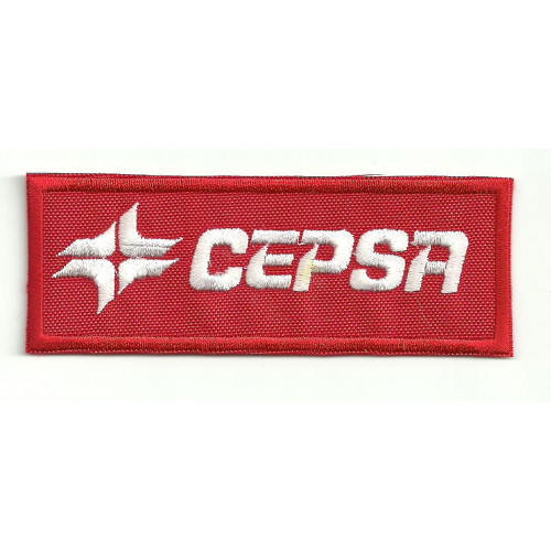 Patch embroidery CEPSA 4,5cm x 1,8cm