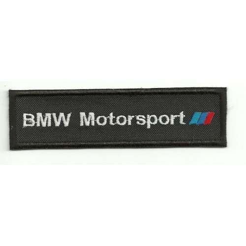 Patch embroidery BMW MOTORSPORT 5cm x 1,5cm