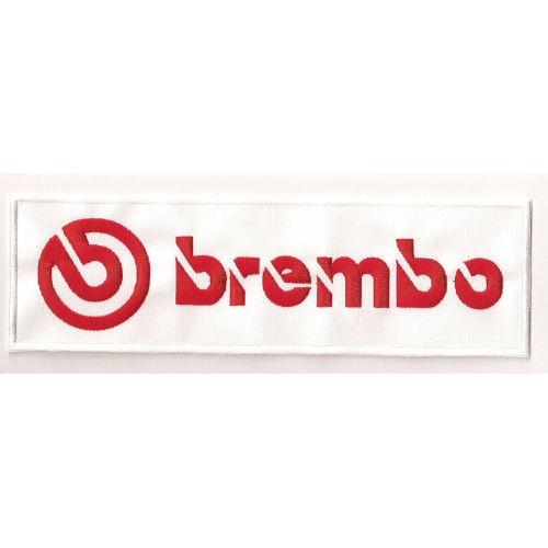 Patch embroidery BREMBO 5cm x 1,3cm