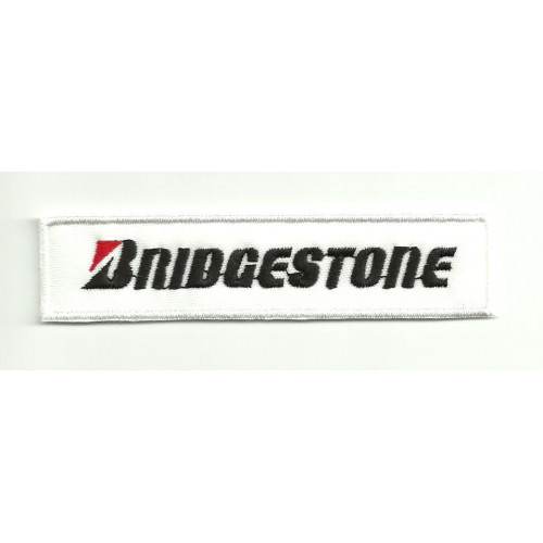 Patch embroidery BRIDGESTONE 5cm x 1,2cm