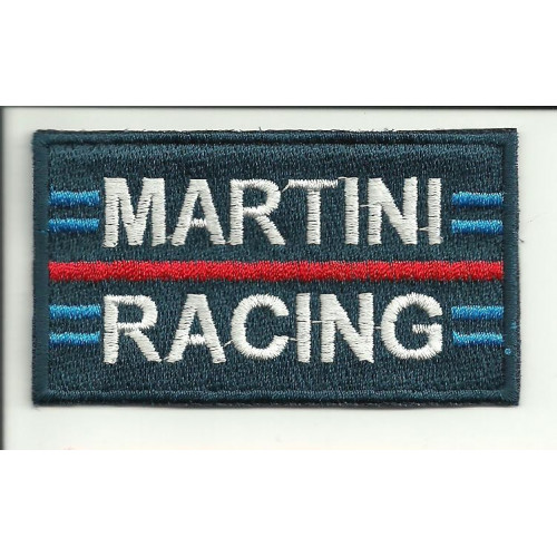 Patch embroidery MARTINI RACING 4cm x 2,3cm