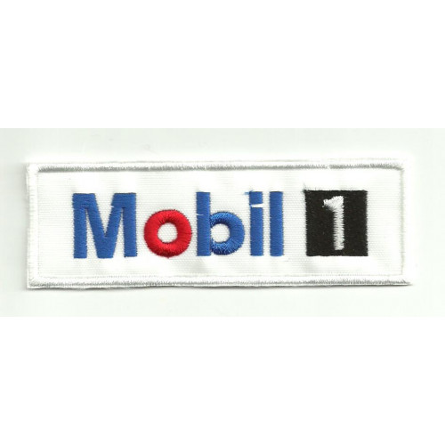 Patch embroidery MOBIL 1 5cm x 1,5cm