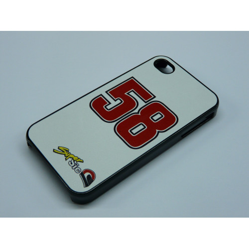 IPHONE 4 AND 4S SIMONCELLI SUPER SIC BLACK AND WHITE