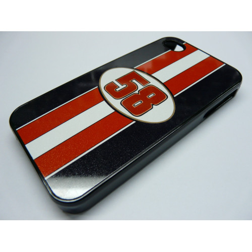 IPHONE 4 AND 4S SIMONCELLI 58 BLACK