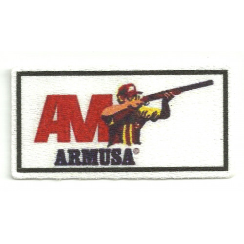 Parche textil  ARMUSA   7,5cm x 4cm