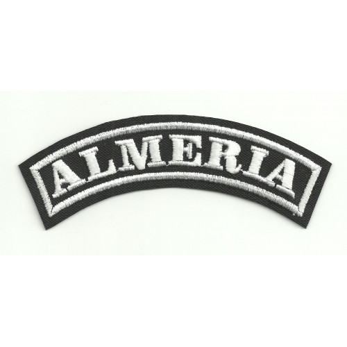 Embroidered Patch ALMERIA 11cm x 4cm