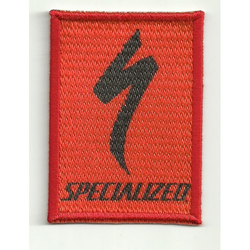 Patch embroydery SPECIALIZED ROJO 5cm x 7cm
