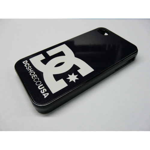 IPHONE 4 Y 4S DC SHOES NEGRA