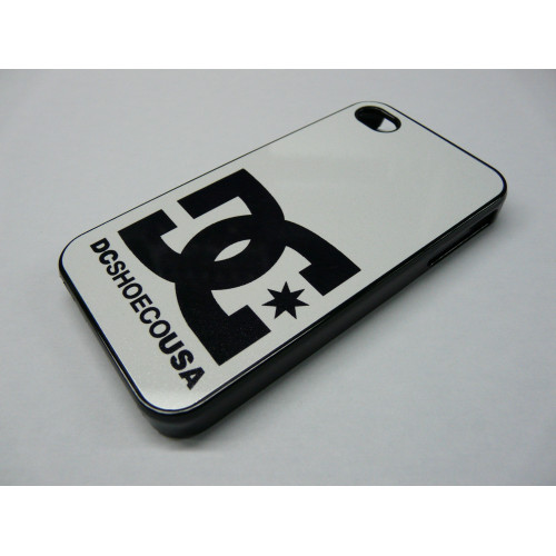 IPHONE 4 Y 4S DC SHOES BLACK AND WHITE