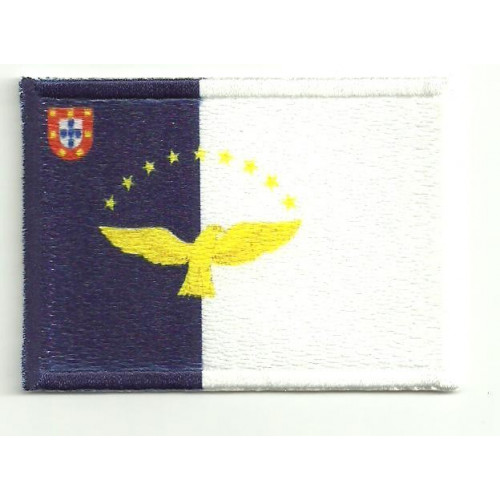 Patch embroidery and textile AZORES 4cm x 3cm