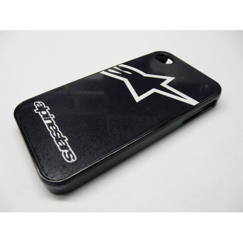 IPHONE 4 Y 4S ALPINESTARS LOGO NEGRA