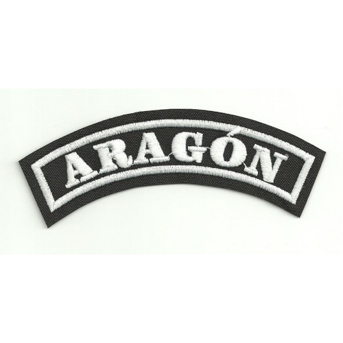 Embroidered Patch ARAGON 25cm x 7cm