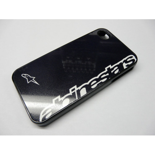 IPHONE 4 Y 4S ALPINESTARS LETRAS NEGRA