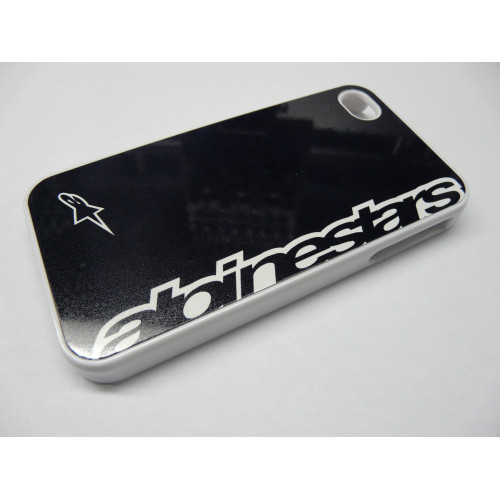 IPHONE 4 Y 4S ALPINESTARS LETRAS  WHITE