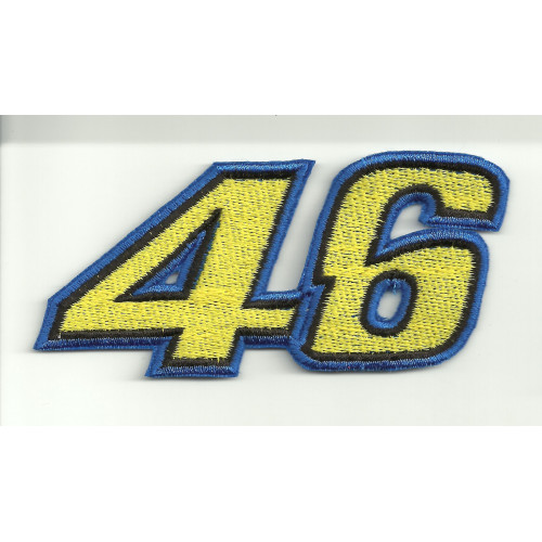 Patch embroidery VALENTINO ROSSI 46 10cm x 4cm