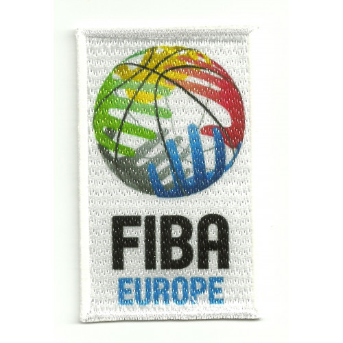 embroidery patch and textile FIBA EUROPE  5cm x 8cm