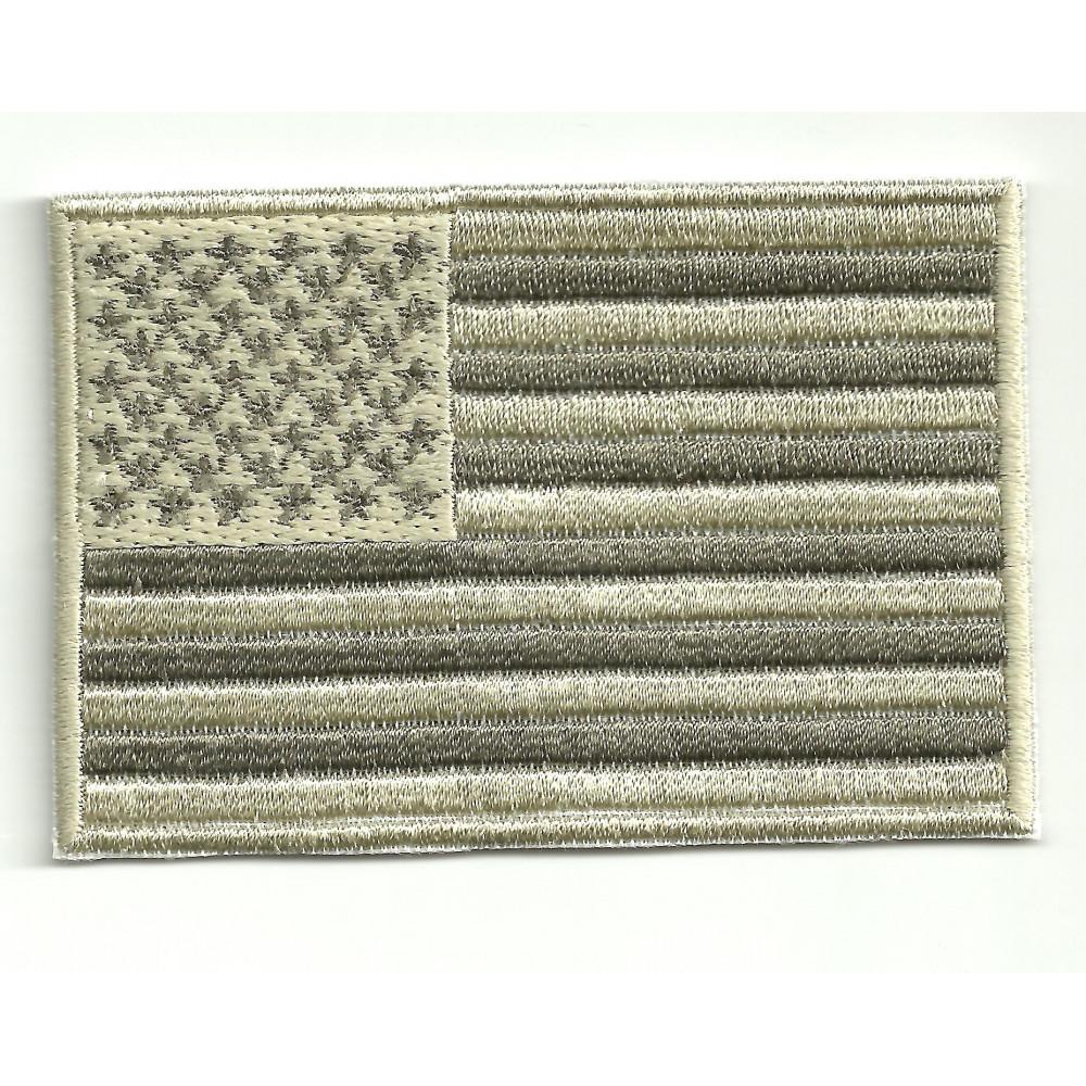 Parche bordado BANDERA USA ARIDA   7cm x 5cm
