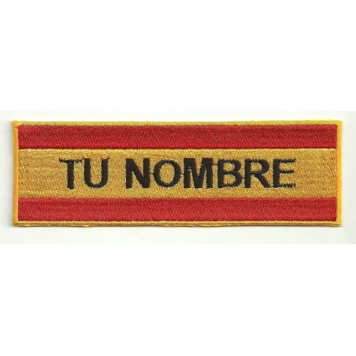 Embroidery Patch MILITARY WITH YOUR NAME 14cm x 4,2cm NAMETAPE