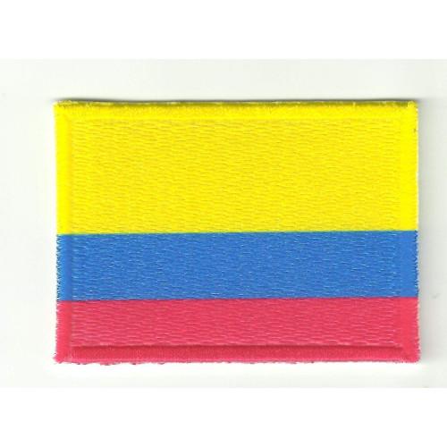 Parche bandera COLOMBIA  4cm x 3cm