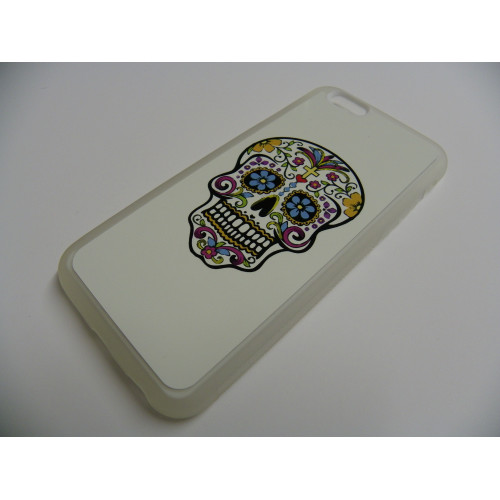 IPHONE 6 MEXICAN SKULL WHITE