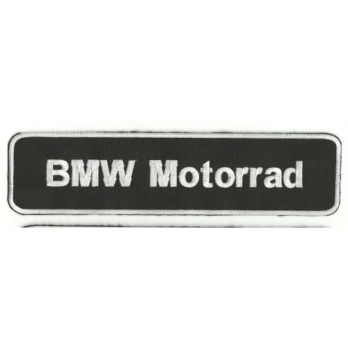 Parche bordado  BMW MOTORRAD 26cm x 6cm
